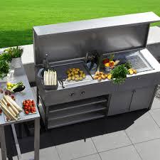 edelstahl küche outdoor kitchen
