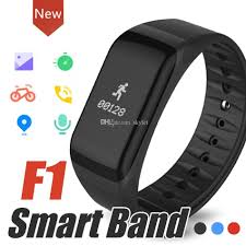 blood pressure bracelet iphone images F1 smart bracelet fitness wristband with heart rate monitor blood jpg