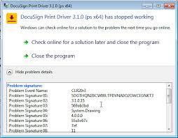 abc australia print driver 3 x installation failure on windows 7