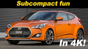 hyundai veloster turbo vitamin c 2017 hyundai veloster turbo review and road test in 4k uhd youtube