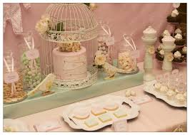 Perfect Design Vintage Baby Shower Theme Gorgeous Table