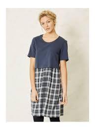 robe en dessous des genoux robe naturelle en lyocell tencel et coton bio mode éthique originale