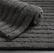 Black And White Bathroom Rugs with Cotton Bath Rug Collection Rh