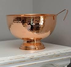 punch bowl alchemade hammer copper punch bowl reviews wayfair