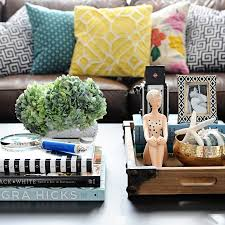 coffee table styling make over your coffee table with these