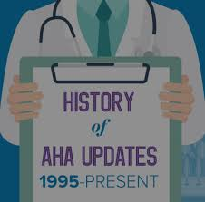 historical archive of aha guideline changes 1995 2015