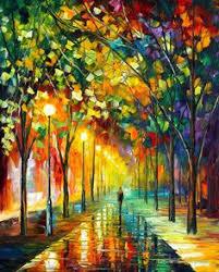 ballet through leonid afremov u0027s strokes oil painting on canvas