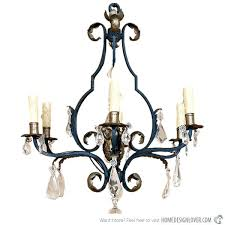 Antique Rock Crystal Chandelier Crystal And Iron Chandelier U2013 Eimat Co