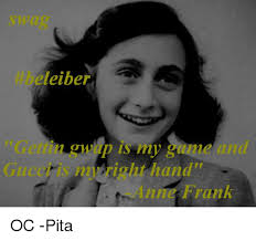 Anne Frank Memes - eleiber right hand anne frank oc pita meme on esmemes com