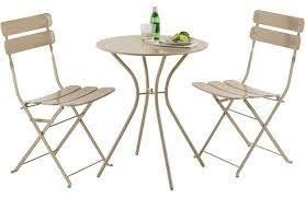 Homebase Bistro Table Garden Bistro Furniture Set Colour Co Uk Garden