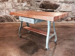 butcher block table on wheels shocking kitchen islands butcher block table on wheels tall image of