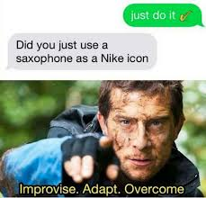 Six Meme - did you just use a saxophone as a nike icon funny memes daily
