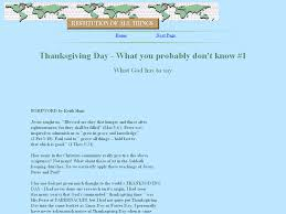 what about thanksgiving day keith hunt thanksgiving day what you probably don u0027t know 1
