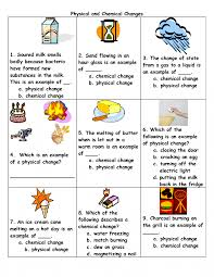 Bill Nye Matter Worksheet Physical And Chemical Change Worksheet With Worksheet Physical Vs