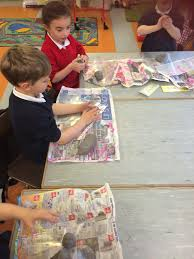 creating christmas crafts with clay u2013 our lady of mercy primary