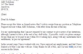 resignation letter format awesome resignation letter to hr or