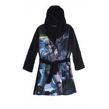 robe de chambre wars peignoir robe de chambre wars noir taille de 4 à 10 ans