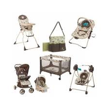 Bag High Chair Baby Infant Toddler Travel System Bundle W Diaper Bag Car Seat