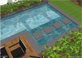 jardin paysager avec piscine projet de jardin contemporain avec piscine hacienda paysage