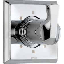 delta dryden 1 handle 6 setting diverter valve trim kit in chrome