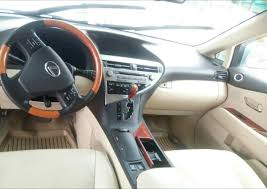 lexus rx 350 for sale nairaland lexus rx350 used 2010model for sale price 7 2m call 08131267376