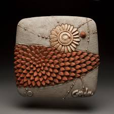 fresh move by christopher gryder ceramic wall sculpture artful