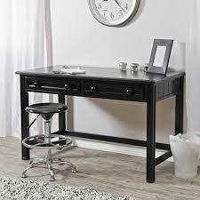 All Modern Desk Belham Living Casey Writing Desk Black Walmart