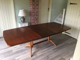 gordon russell 1950s mahogany and rosewood dining table in