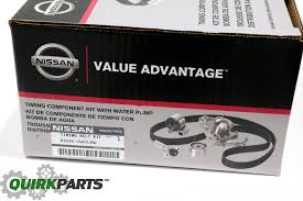 nissan timing belt u0026amp component kit pathfinder frontier xterra