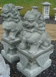 fu dogs for sale foo dog garden statue 35 best garden garden sculptures statues