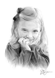 pencil drawing of a small by artist gary tymon