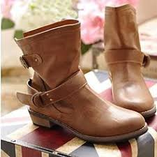 womens boots low heel s motorcycle ankle boots yahoo image search results