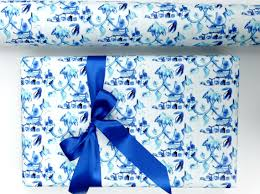chinoiserie wrapping paper pagoda wrapping paper chinoiserie design gift wrapping