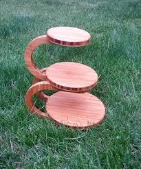 3 tier wedding cake stand bamboo wedding cake stand cupcake