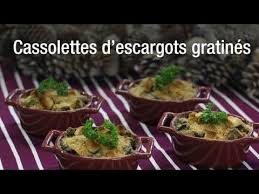 comment cuisiner des escargots recette de cassolettes d escargots gratinés
