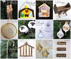 103 best nativity tree ornaments images on