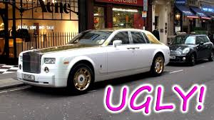 roll royce phantom white the ugliest rolls royce phantom ever youtube