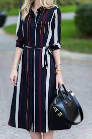 how to wear a shirtdress based on your body shape check the looks