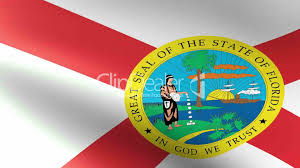 Floridas State Flag Florida State Flag Waving Royalty Free Video And Stock Footage