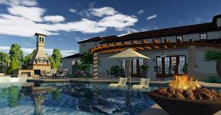 Home Design 3d Library 3d Pool And Landscaping Design Software Overview Vip3d