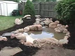 how to build a small pond diy build a garden pond in a raised bed