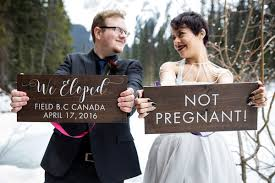 elopement announcements 19 creative elopement announcements you ll want to copy huffpost