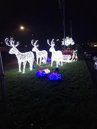 christmas festival decoration light garden lighting reindeer with