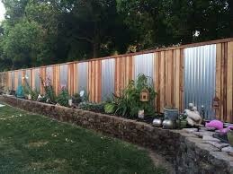 Privacy Fence Ideas For Backyard A Privacy Fence Ideas Bellissimainteriors