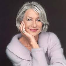 favorite short hairstyles for older women with gray hair short