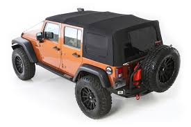jeep wrangler unlimited softtop smittybilt premium replacement canvas top with tinted windows