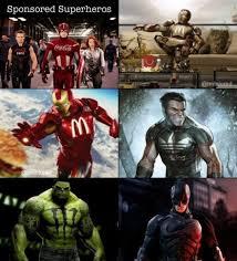 Funny Superhero Memes - memes 2014 sponsored superheroes