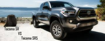 toyota tacoma trim packages differences between tacoma sr and tacoma sr5 trim levels