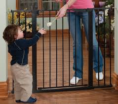 Large Pressure Mounted Baby Gate Extra Tall U0026 Wide Auto Close Gateway
