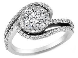 swirl engagement rings engagement ring swirl diamond halo engagement ring es1050
